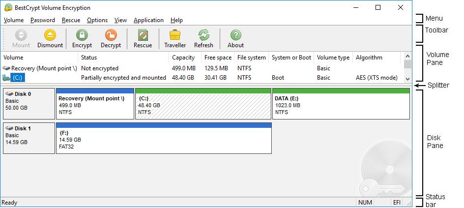 BestCrypt Volume Encryption 3.78.05