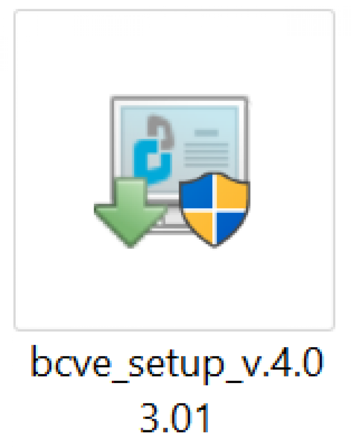 Installer icon for BestCrypt Volume Encryption