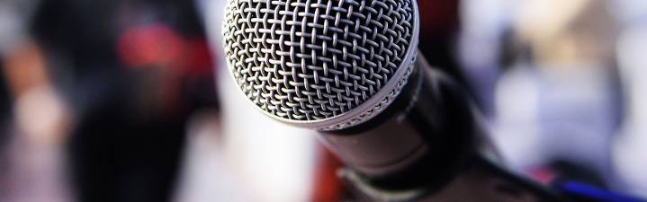 Microphone to announce the latest Jetico news